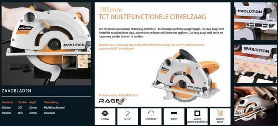Evolution Rage 1B 230v