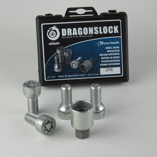 Dragonslock Velgenslot - Wielslot Set Audi S3 Van Elk Bouwjaar - Verzinkt - Beste Keus