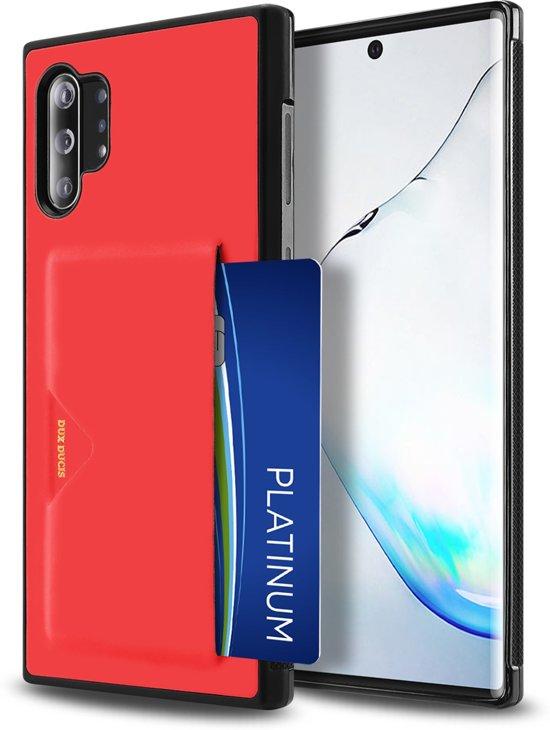 Samsung Galaxy Note 10 Plus Hoesje - Dux Ducis Pocard Case - Rood