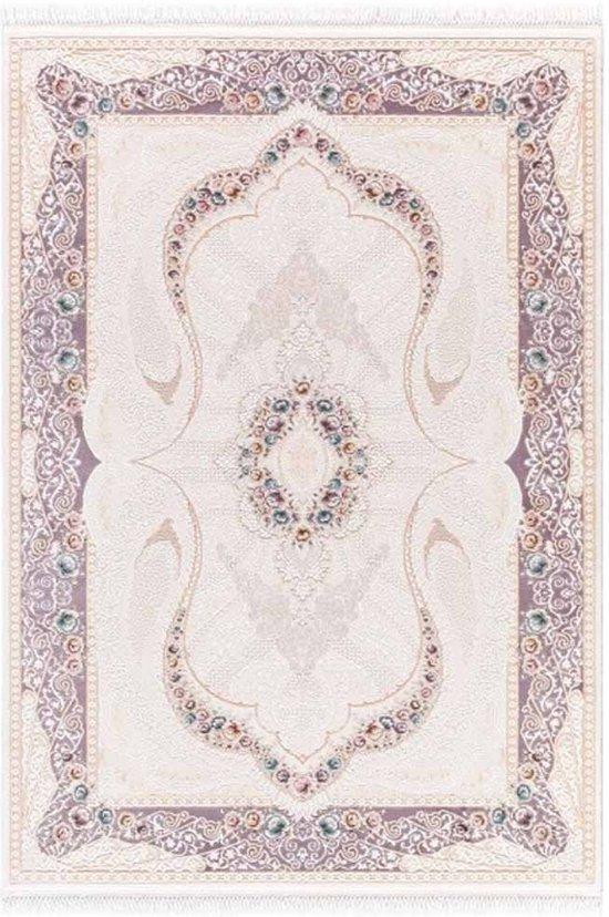 Vloerkleed koninklijk Galeria 240x340cm paars (01)