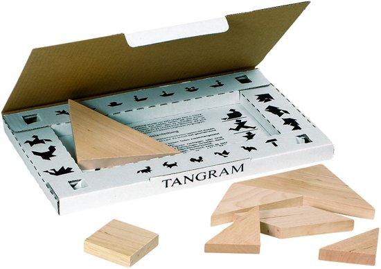 Goki Tangram hout: 7-delig