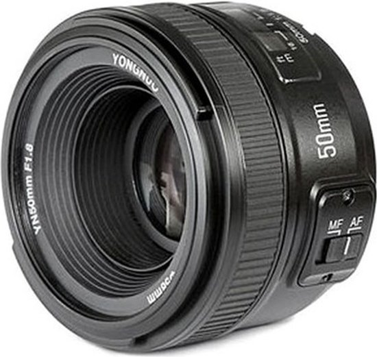 """Yongnuo EF 50mm F/1.8 voor Canon EF, EF-S"""""""