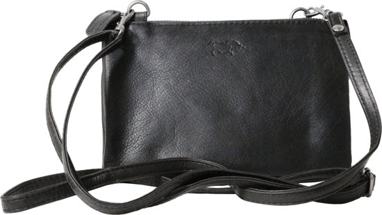 Xl Cp30996 Rundleer portemonnee 184 Uma Stadtasje Arrigo 1 Zwart Uitgaanstasje Zwarte Tasje ERqWwCn51
