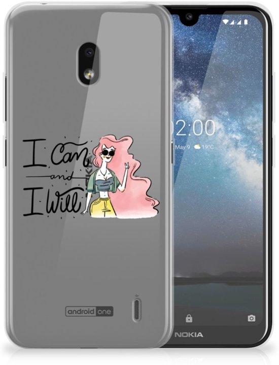 Nokia 2.2 Telefoonhoesje met Naam i Can