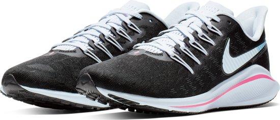 Nike Air Zoom Vomero 14 Sportschoenen Dames - Black/Pink
