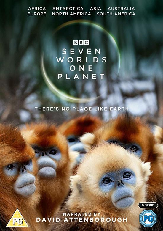 DVD cover van Seven Worlds, One Planet
