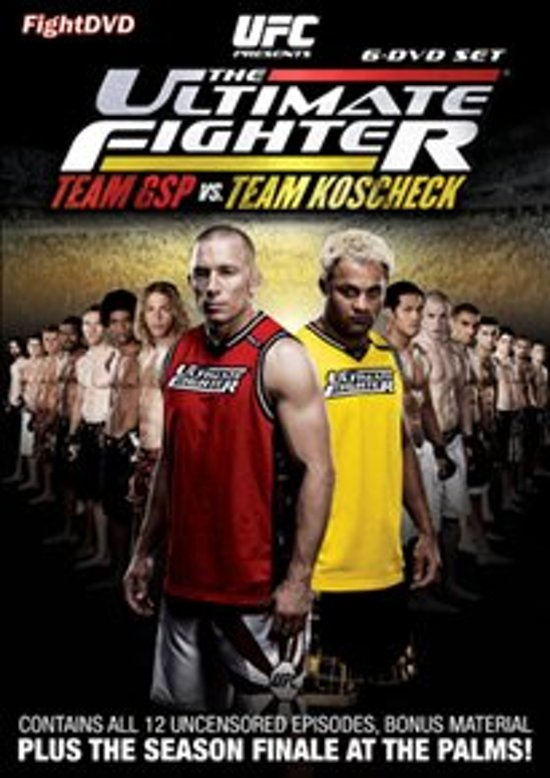 Cover van de film 'UFC - The Ultimate Fighter: Team GSP vs. Team Koscheck ('