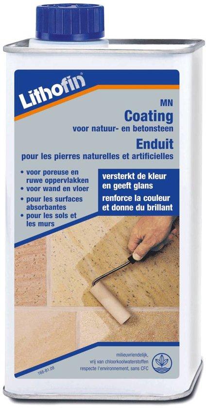 MN Coating - Verglazing versterkt kleur en structuur - Lithofin