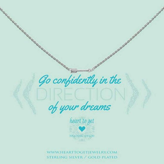 Heart to Get - S Arrow Silver Ketting N249SAR15S
