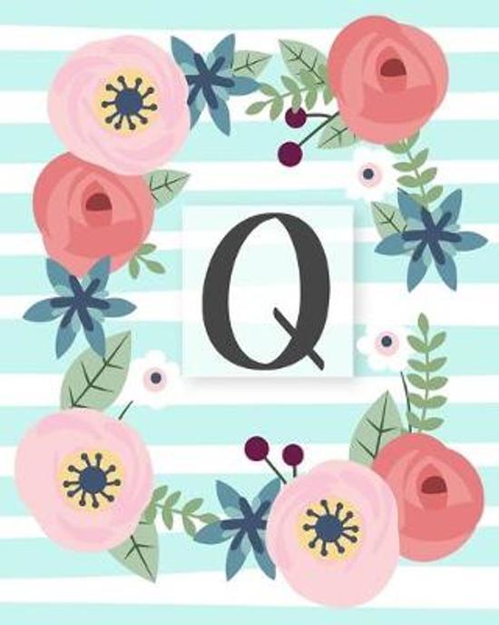 Q: Diario Agenda con copertina Monogramma. Date da Ricordare, Obiettivi, Priorita' e Spazio Appunti per i tuoi Pensieri!