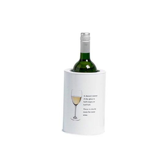 Cosy&Trendy Wijnkoeler Stylish White - Ø 13 cm Valentinaa