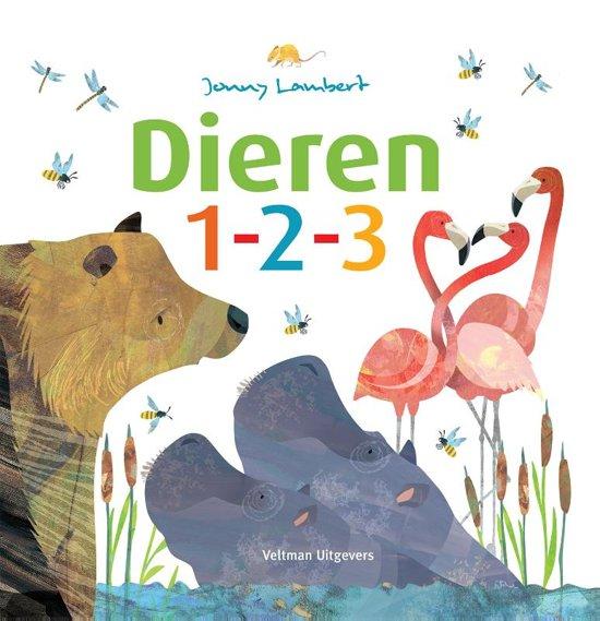 Boek cover Dieren 1-2-3 van Jonny Lambert (Hardcover)