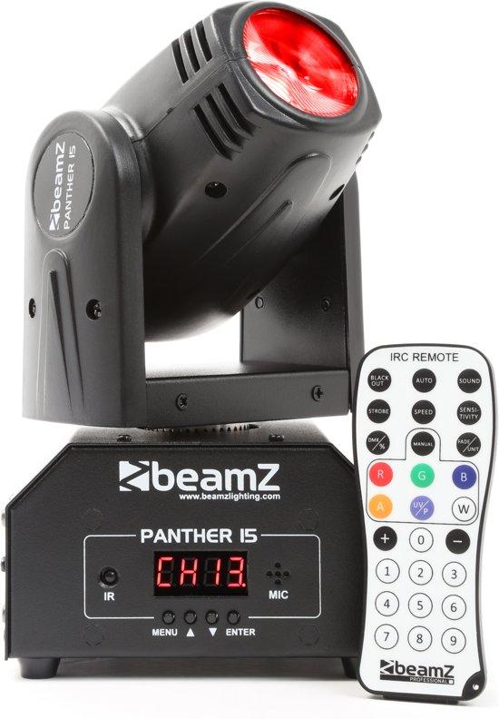 BeamZ Panther 15 Moving Head Met Afstandsbediening