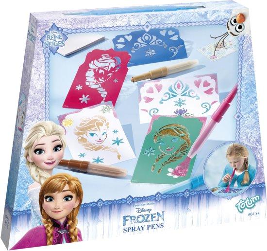 Disney Frozen Spraypens - Blaaspen schilderijtjes