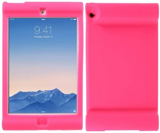 GSMWise - Apple iPad Air 2 - Val Bestendig Zachte PU lederen Back Case - Roze in Giesbeek