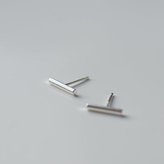 kleine zilveren oorknopjes