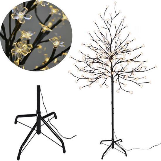 sakura decoratieve boom met led verlichting 180 cm warm wit