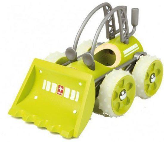 Hape - Speelgoed bulldozer - Ecologisch- Gemaakt uit bamboe