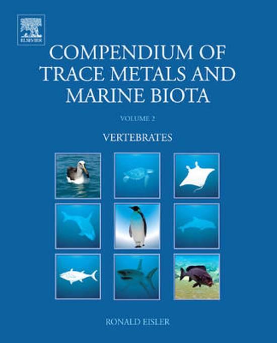 Compendium of Trace Metals and Marine Biota