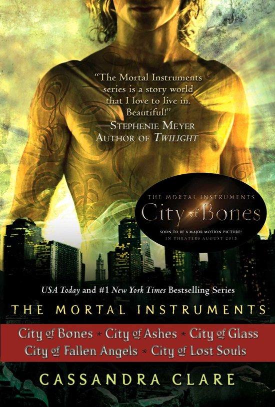 The Mortal Instuments 1-5 - The Mortal Instruments boxset