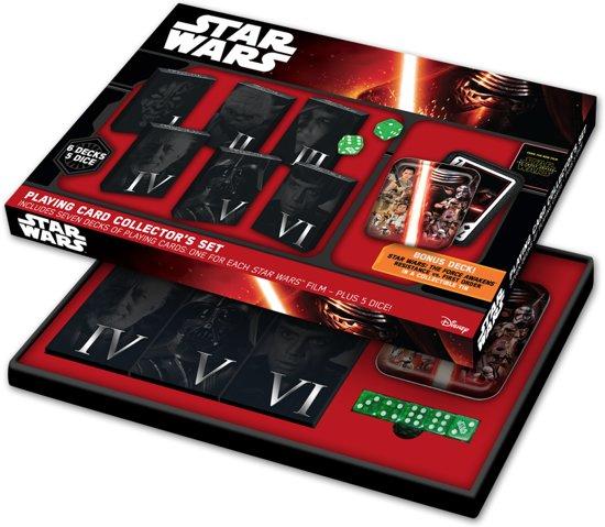 Afbeelding van het spel Star Wars Collector Card Set - Speelkaarten