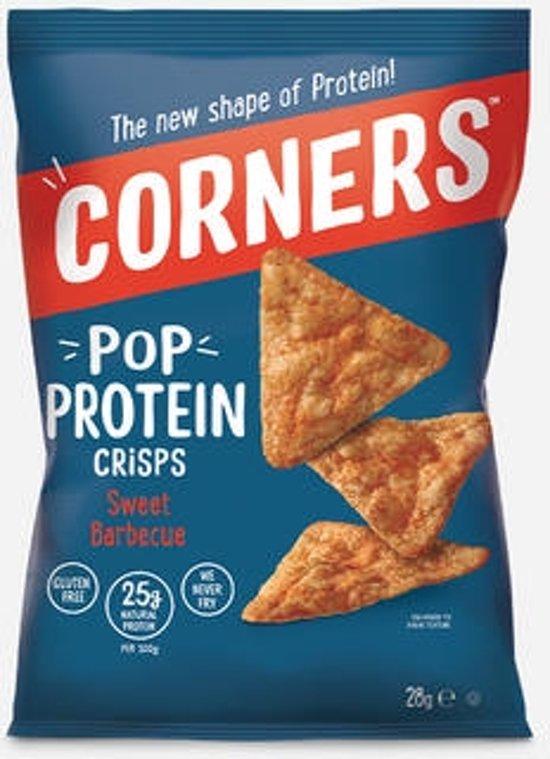 Corners Pop Protein Crisps - Sport snack - 18 stuks (28 gram)