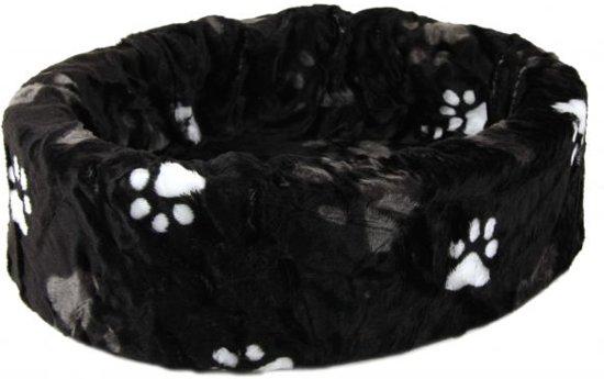 Petcomfort Kattenmand/Hondenmand Grote Poot - 46x40x13 cm - Zwart