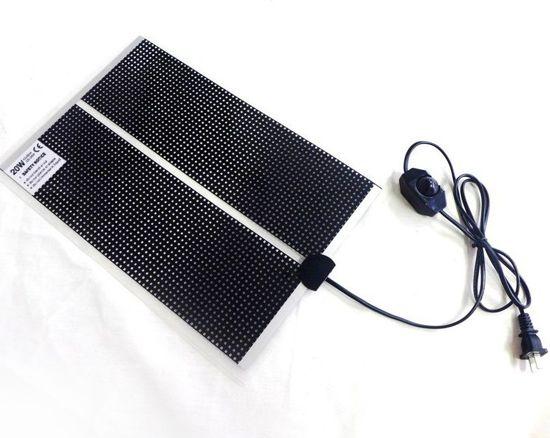 Warmtemat QH 62x28cm met dimmer en Aan/Uit schakelaar
