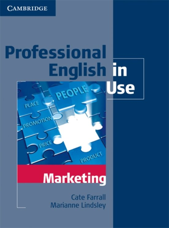 Professional English in Use Marketing with Answers - Cate Farrall
