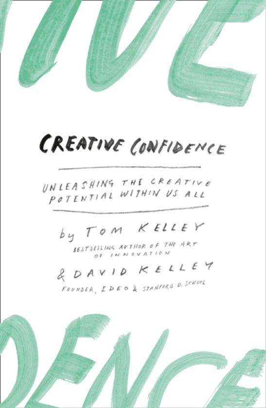 Boek cover Creative Confidence van Tom Kelley (Paperback)