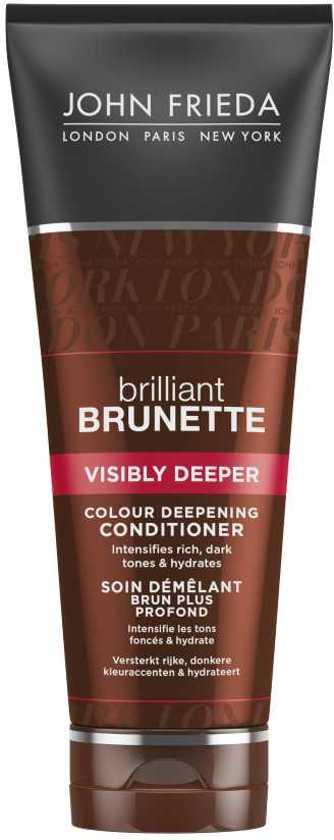 John Frieda Brilliant Brunette Visibly Deeper - 250 ml - Conditioner
