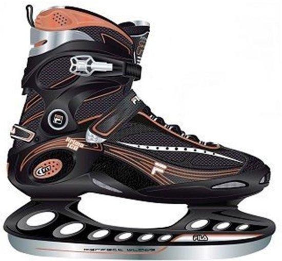 5b50b21d733 Fila Primo Ice IJshockeyschaats - Schaatsen - Heren - Maat 41 - Zwart/Goud