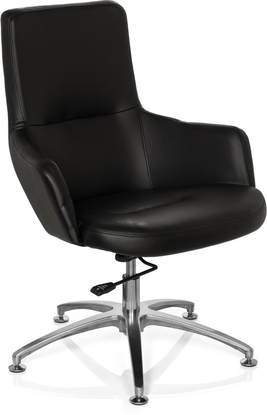 hjh office Shake 300 - Loungestoel - Zwart