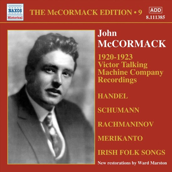 Mccormack: Edition Vol.9