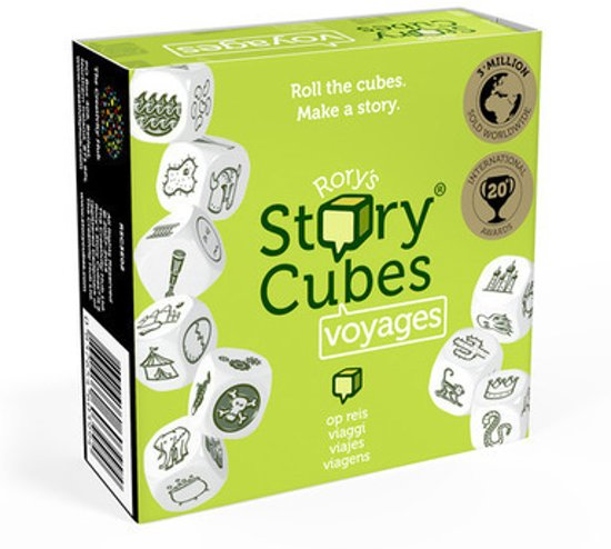 Rory's Story Cubes Voyages - Dobbelspel