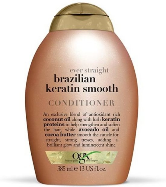 Brazilian keratin smooth conditioner