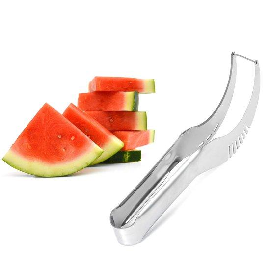 RVS Watermeloen Snijder - Meloen Snijder - Ideaal voor in de keuken