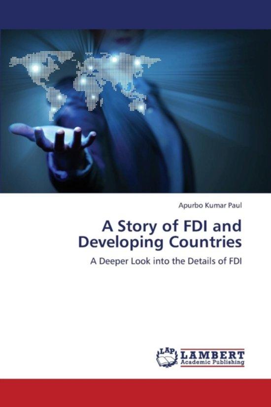 a study on impact of fdi Globalization impact on foreign direct investment (fdi): a study of fdi in andhra pradesh pakanati someshu, phd research scholar, dept of economics.