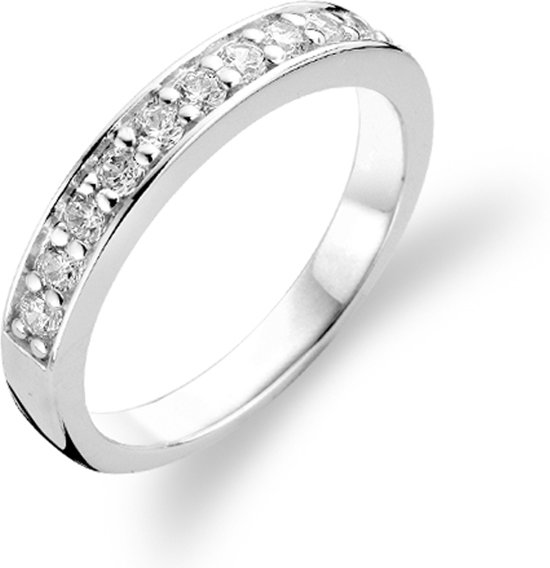 TI SENTO Milano Ring 1151ZI - Maat 58 (18,5 mm) - Gerhodineerd Sterling Zilver
