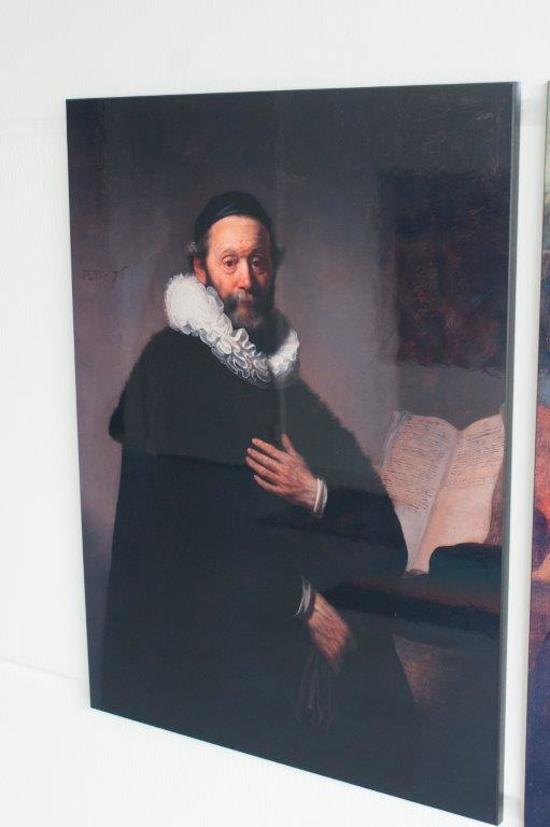 Schilderij Johannes Wtenbogaert op Hout (60 x 80cm)
