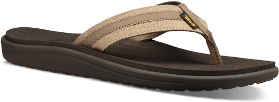 bad3c767d VOYA CANVAS FLIP M - TEENSLIPPERS - HEREN - BEIGE