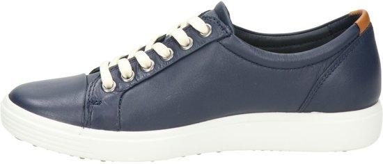 Leather Dames Cow 7 marine soft Blauw Maat Veterschoenen 40 01038 Ecco 430003 q6UwPgg