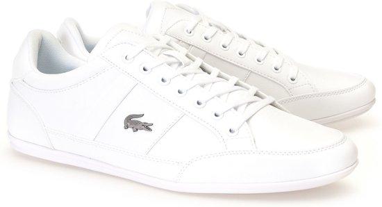 Heren 43 Bl Lacoste Wit Sneakers Maat Chaymon aRHwU