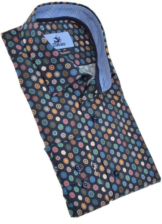 Culture overhemden 513970-Modern Marine (Maat: M)