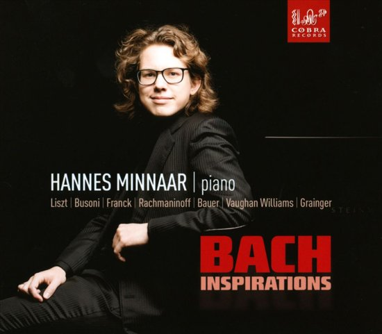 Bach Inspirations by Hannes Minnaar CD