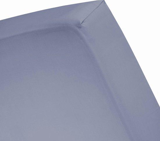 Damai - Hoeslaken hoge hoek (tot 35 cm) - Katoen - 90 x 200 cm - Lavender