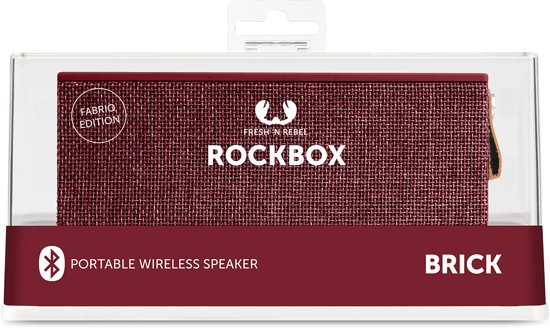 Fresh 'n Rebel Rockbox Brick Bluetooth Speaker Fabriq Edition