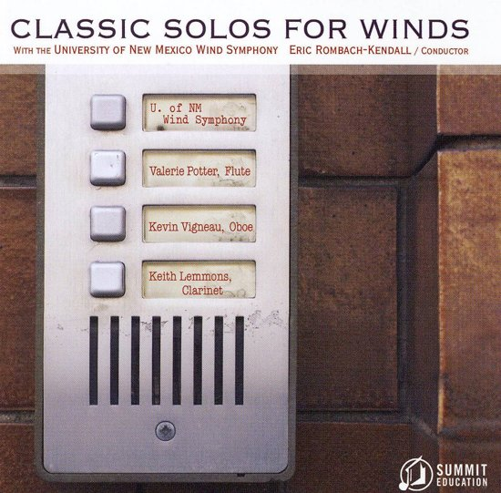 Classic Solos for Wind