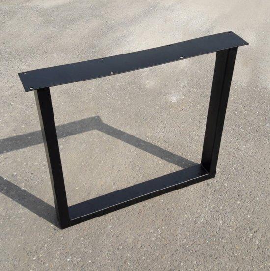 Onwijs bol.com | Metalen tafelpoten, stalen U-poot - Zwart gecoat HQ-13