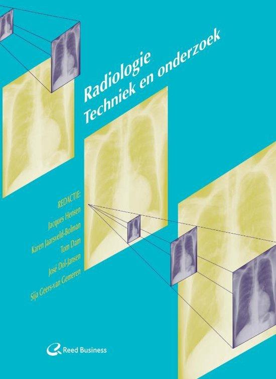 Radiologie: Techniek en onderzoek